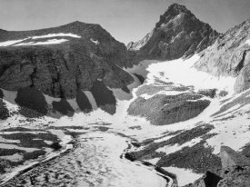 Ansel Adams - Junction Peak, Kings River Canyon,  proposed as a national park, California, 1936