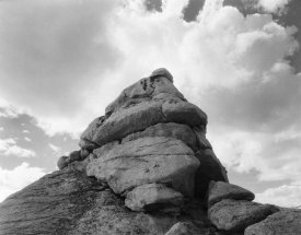Ansel Adams - Rock and Cloud, Kings River Canyon,  proposed as a national park, California, 1936