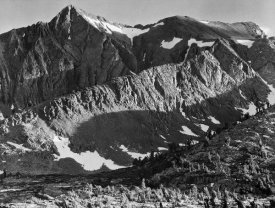 Ansel Adams - Peak above Woody Lake, Kings River Canyon,  proposed as a national park, California, 1936