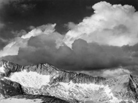 Ansel Adams - Clouds - White Pass, Kings River Canyon, proposed as a national park, California, 1936