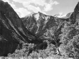 Ansel Adams - Paradise Valley, Kings River Canyon, proposed as a national park, California, 1936