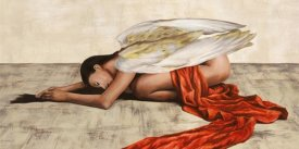Sonya Duval - Reclined Angel (detail)