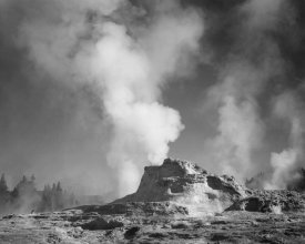 Ansel Adams - Castle Geyser Cove, Yellowstone National Park, Wyoming, ca. 1941-1942