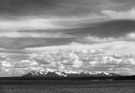 Ansel Adams - Yellowstone Lake, Mt. Sheridan, Yellowstone National Park, Wyoming, ca. 1941-1942