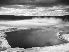 Ansel Adams - Fountain Geyser Pool, Yellowstone National Park, Wyoming, ca. 1941-1942