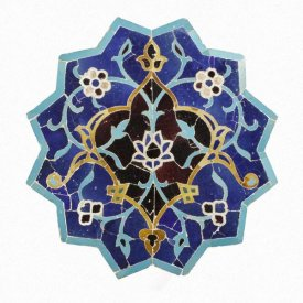 Unknown 15th Century Persian Artisan - Mosaic Tile