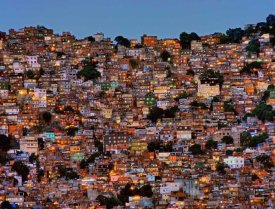 Adelino Alves - Nightfall In The Favela Da Rocinha