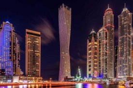 Vinaya Mohan - Dubai Marina Night Shot