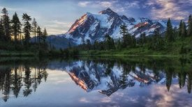 James K. Papp - Sunrise On Mount Shuksan