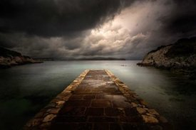 Ghizzi Panizza Alberto - Sea, Im walking to you hearing the sound of the clouds