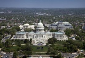 Carol Highsmith - Aerial view, United States Capitol building, Washington, D.C.
