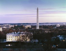 Carol Highsmith - Dawn over the White House, Washington Monument, and Jefferson Memorial, Washington, D.C.