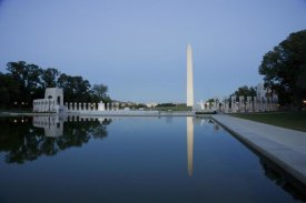 Carol Highsmith - Reflecting pool on the National Mall with the Washington Monument reflected, Washington, D.C.