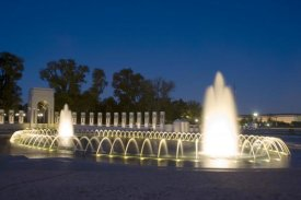 Carol Highsmith - World War II Memorial Nigh), Washington, D.C.
