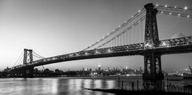 Michel Setboun - Queensboro Bridge and Manhattan from Brooklyn, NYC