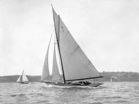 Anonymous - Victorian sloop on Sydney Harbour, 1930