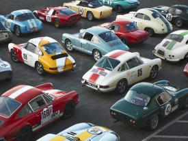 Anonymous - Vintage sport cars at Grand Prix, Nurburgring