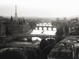 Michel Setboun - Bridges over the Seine river, Paris