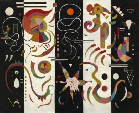 Wassily Kandinsky - Striped (Raye)