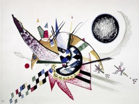 Wassily Kandinsky - Watercolor Painting of Composition