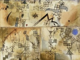 Paul Klee - Three-Part Composition