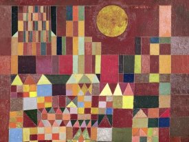 Paul Klee - Castle and Sun (detail)