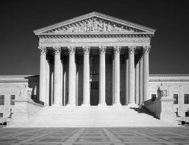 Carol Highsmith - U.S. Supreme Court building, Washington, D.C. - Black and White Variant