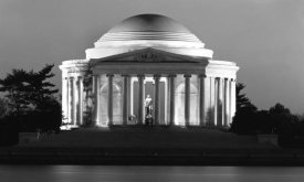 Carol Highsmith - Jefferson Memorial, Washington, D.C. - Black and White Variant