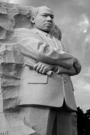 Carol Highsmith - Martin Luther King, Jr. Memorial, Washington, D.C. - Black and White Variant
