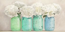 Jenny Thomlinson - Peonies in Mason Jars (detail)
