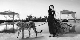 Lauren - Woman with Cheetah