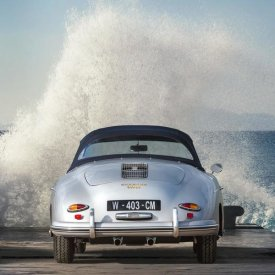 Gasoline Images - Ocean Waves Breaking on Vintage Beauties  (detail 2)