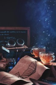 Dina Belenko - Steampunk Tea (with Goggles And Blueprints)