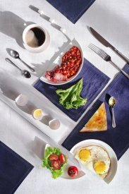 Dina Belenko - Suprematic Meal: English Breakfast