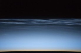 Jeff Williams - Noctilucent Clouds Over Earth