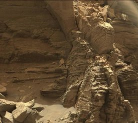 Curiosity - Mars Rover Farewell to Murray Buttes Image 4