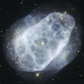 Hubble Space Telescope - NGC 6153 - A Nitrogen-Rich Nebula