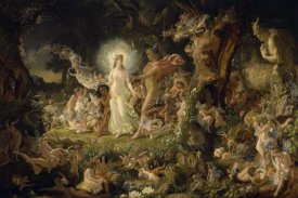 Sir Joseph Noel Paton - The Quarrel of Oberon and Titania