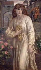 Dante Gabriel Rossetti - Salutation of Beatrice, 1882