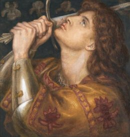 Dante Gabriel Rossetti - Joan of Arc, 1864