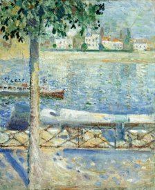 Edvard Munch - The Seine at Saint-Cloud, 1890