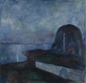 Edvard Munch - Starry Night, 1983