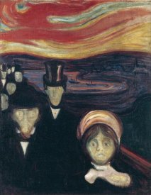 Edvard Munch - Anxiety, 1894