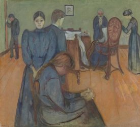 Edvard Munch - Death in the Sickroom, 1893