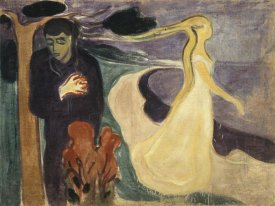Edvard Munch - Separation, 1896