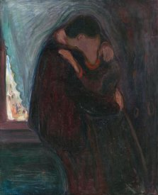 Edvard Munch - The Kiss, 1897