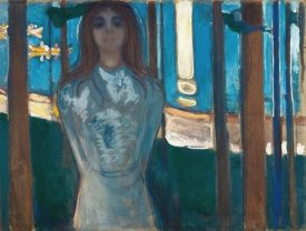 Edvard Munch - The Voice / Summer Night, 1896
