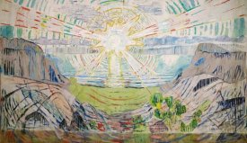 Edvard Munch - The Sun, 1910-1911
