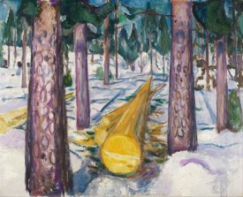 Edvard Munch - The Yellow Log, 1912
