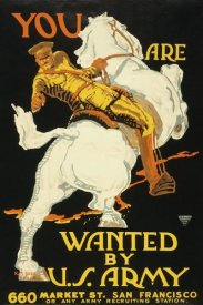 K.M. Bara - You are wanted by the U.S. Army, 1915/1918